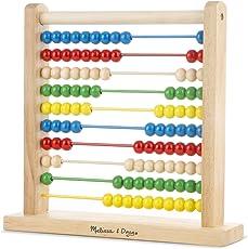 Melissa & Doug 493 Wooden Abacus,Multicolor