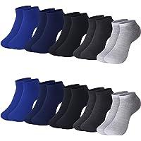 L&K 10 Paia II Calze da Uomo Donna Sportive Sneaker Calzini Cotone Comodo Unisex 2101