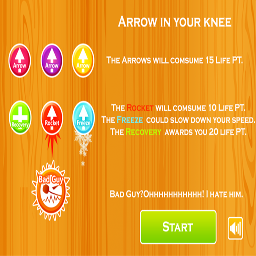 dodge-game-arrow-in-your-kneel