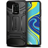 KAPAVER® Rugged Back Cover Case for Xiaomi Redmi Note 9 Pro/Redmi Note 9 Pro Max/Poco M2 Pro MIL-STD 810G Officially Drop Tes