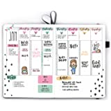 B5 Bullet Planner 2020-2021 Undated - Declutter Your Mind and Organise Your Life in a Fun and Creative Way