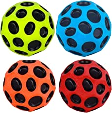 Aadmora Moon Bounce Ball Set (Multicolour) - 2 Pieces