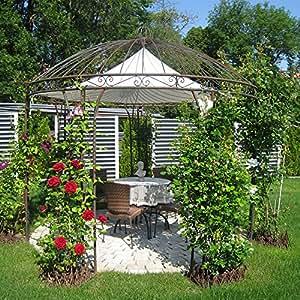 eisenpavillon gartenpavillon pavillon rosenpavillon metallpavillon pavillion 300cm. Black Bedroom Furniture Sets. Home Design Ideas