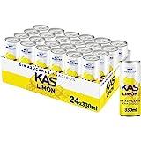 KAS Zero Limón 330 ml - Refresco de Limón sín Azúcar - Pack de 24