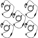 KEESIN G Forma de Clip Auriculares/Mic del Auricular para Motorola Talkabout 2 Radio de Dos vías walkie Talkie 1 Pines 100-0
