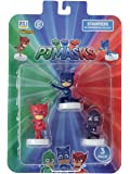 Pj Masks Stampers Blister 3 (S1) - Catboy, Owlette, Ninjalinos for Kids 3+ Years & Above