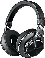 Bluetooth Wireless Kopfhörer Noise Cancelling - HiFi Stereo Drahtlose Headset Over Ear mit Mikro Lautstärkeregler für Alle Geräte mit Bluetooth oder 3,5 mm Klinkenstecker