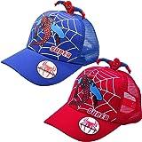 Sombrero de béisbol para unisex, diseño de Spider Man con Visera para unisex de 1 a 4 años Gorra infantil