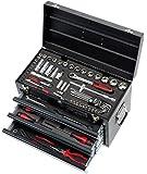 KS Tools 922.0100Werkzeugkoffer 100-teilig mit 3Schubladen/Tablett