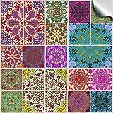 24 stück Fliesenaufkleber für Küche und Bad (Tile Style Decals 24x TP 54 - 4