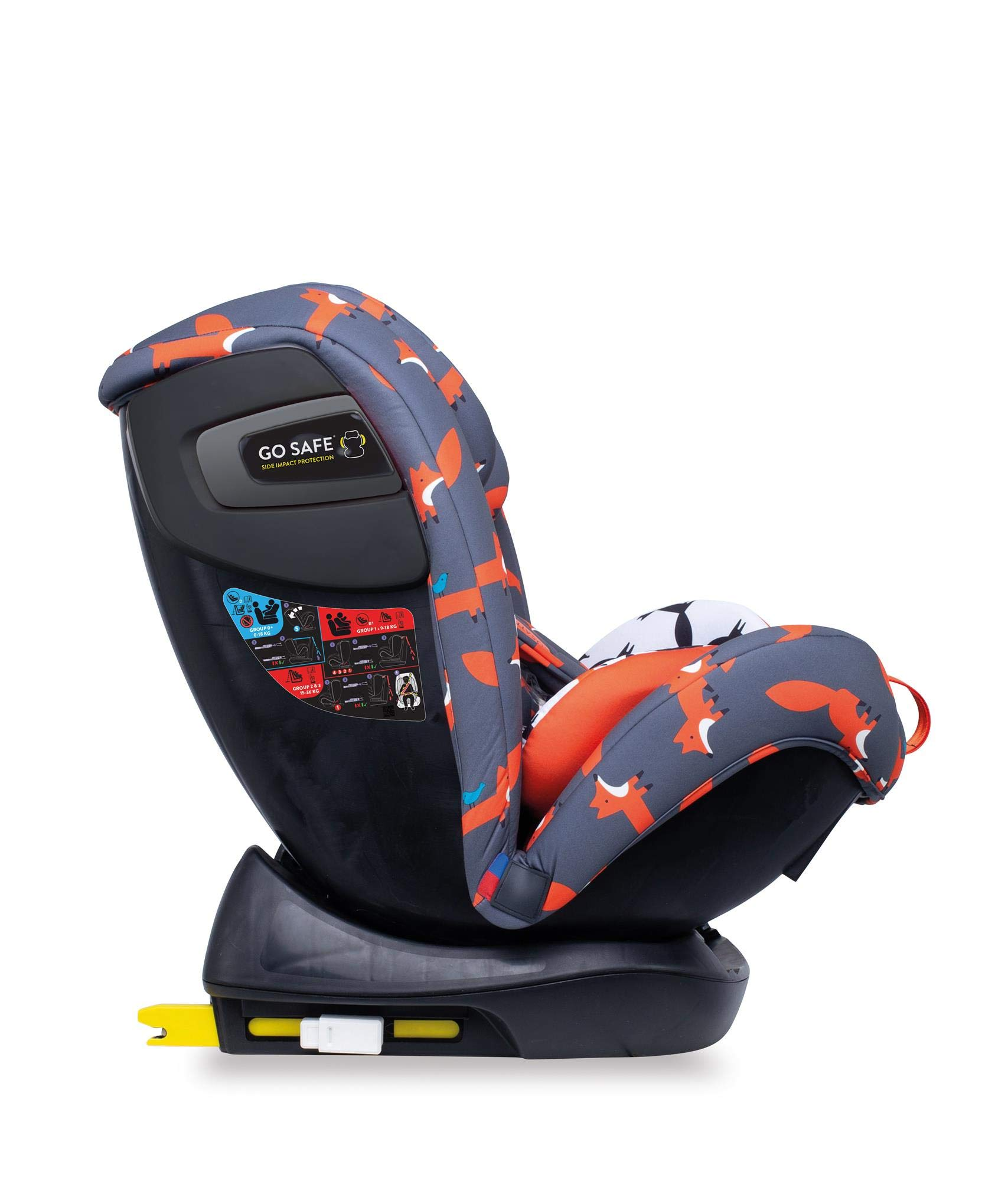 Cosatto CT4241 All in All + Group 0+123 Car Seat Mister Fox 8.9 kg Cosatto Extended rear facing Suitable for all stages Extra security 5