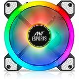 Ant Esports Superflow 120 Auto RGB V2 1200 RPM Case Fan/Cooler