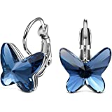 Shining Diva Fashion Italian Designer Copper Earrings for Women (Blue)(9794er)