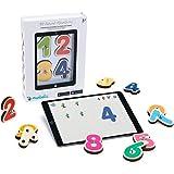 Marbotic - Smart Numbers pour Tablettes iPad ou Samsung - De 3 à 5 Ans - Lettres & Nombres Interactifs en Bois - Jeux Éducati
