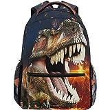 Mochila para el colegio de niño con diseño 3D de dinosaurio T-Rex. Mochilas estupendas para niños, adolescentes, para viajes,