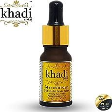 Khadi Global Royale 24K Gold Insta Glow Ayurvedic Facial Night Serum, 12ml