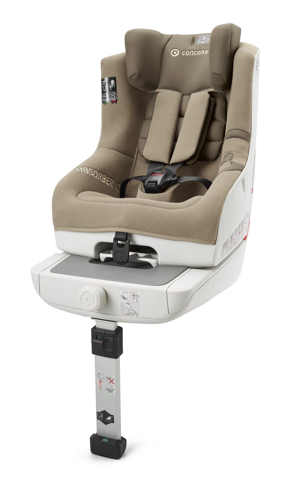 Concord, Seggiolino da auto per bambini, modello Absorber XT, Beige (ALMOND BEIGE), Gruppo 1 (9-18