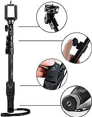 Marklif YT-1288 Bluetooth Remote Selfie Stick for All Mobile Phones/All Cameras