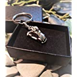 Handmade Little Car VW Beetle Fiat 500 Keyring/Handbag Charm First Car Driving Instructor Gift. Can be personalised…