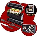 luspo Le Sushi Maker Moules à Sushi Maki Complet + 50 Recettes Offertes  avec Couteau Expert A Sushi  12 Pièces  Vous Allez E