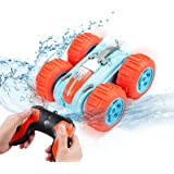 Innoo Tech Remote Control Car Waterproof Stunt Car- 2.4Ghz 4WD Off Road Water & Land Rc Cars-Double Sides Stunt Car with 360°