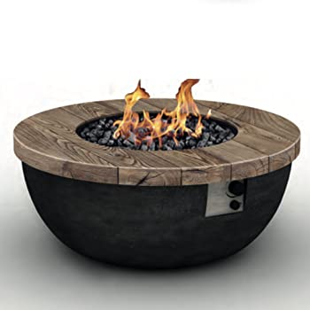 Foremost Outdoor Gas Fire Pit Table   Bowl