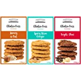 Generic Farmhouse Biscuits Gluten Free Cookies- Spicy Stem Ginger, Triple Chocolate and Honey Oat (Pack of 3)