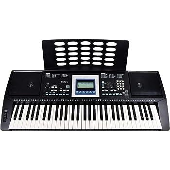 8109ba91e96 Yamaha PSR-E323 61-key Touch Sensitive Portable Keyboard with 482 ...