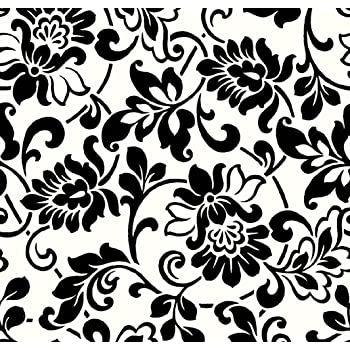 Carta adesiva per mobili tiling pattern ornate for Carta decorativa per mobili