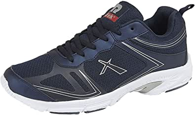 Dek Mens Lace up Gym Running Jogger Memory Foam Lightweight Trainers Shoes Size 6-12