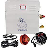 Eco-Worthy 9kW automatique Générateur de vapeur/sauna Home Spa Douche St-135m contrôleur Autodrain