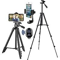 Handy Stativ Smartphone Kamera Stative Lightweight Tripod Ständer für iPhone Stativ Samsung Halter Halterung Leichtes…