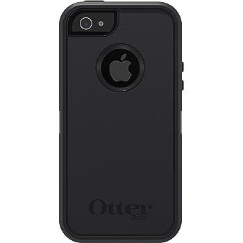 OtterBox Defender sturzsichere Schutzhülle für Apple iPhone 5/5S/SE, Schwarz
