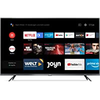 Xiaomi Mi Smart TV 4S 43 Zoll (4K Ultra HD, Triple Tuner, Android TV 9.0, Fernbedienung mit Mikrofon, Amazon Prime Video…