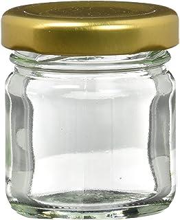 Nutley/'s 380 ml Jam et Bocal Couvercle-Gold pack de 6