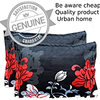 Urban Home Cotton 200TC Pillow Cover (Standard_Multicolour)