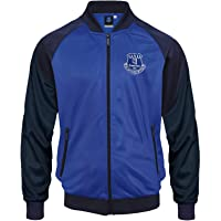 Everton FC Mens Jacket Track Top Retro Official Football Gift