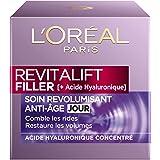 L'Oréal Paris - Revitalift - Filler - Soin Jour Revolumisant - Anti-Rides & Volume - Anti-Âge - Concentré en Acide Hyaluroniq