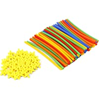 RATNA'S Straw Assembly KIT. Make Different Objects Using Straws
