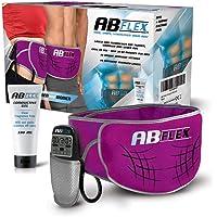 ABFLEX Cintura Addominale per Muscoli Addominali snelli e tonici - Nessun Cuscinetto di Ricambio mai - Comodo…