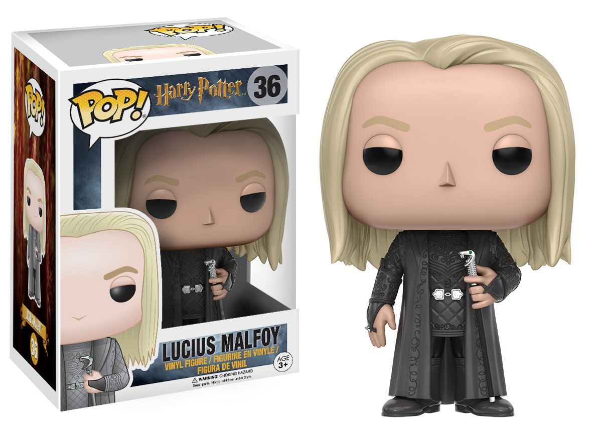 Funko Pop Lucius Malfoy (Harry Potter 36) Funko Pop Harry Potter