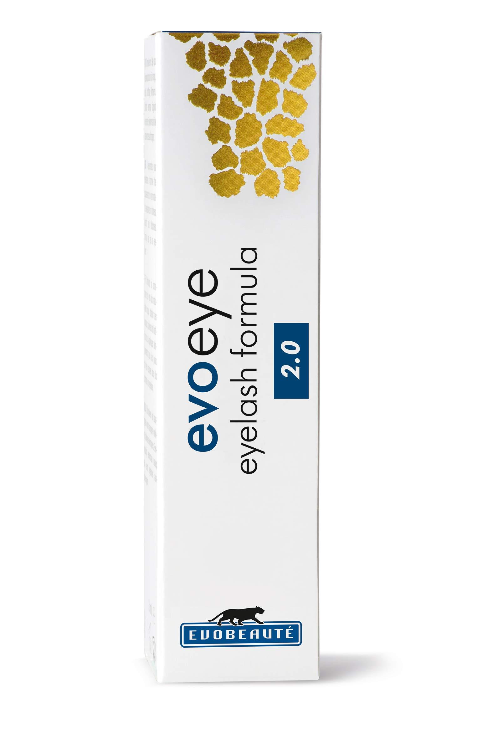 EvoEye pestañas Fórmula 2.0 – suero de crecimiento de las pestañas, mejor fórmula (3 ml)