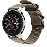 FINTIE Bracelet Compatible avec Galaxy Watch 46mm/Gear S3 Classic/S3 Frontier/Huawei Watch GT/GT 2/GT 2e - Bande de Remplacem