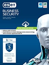 ESET Business Security - 5 users, 1 year (Email Delivery in 2 hours- No CD)