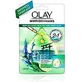 Olay Sheet Mask: Deep Sea Algae Healthy Aura Japanese Skinfusion, 25 g
