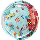 xianghaoshun Tummy tijd mat voor kinderen, 75 X 75 cm waterspeelmat speelgoed, ronde zintuiglijke speelgoed voor baby's water