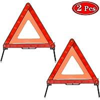 EmNarsissus Segnale di Avvertimento di Emergenza per Veicoli automobilistici Triangolo Riflettente Sicurezza Stradale Pieghevole Sicurezza Stradale Riflettente