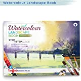 Watercolour Landscape Painting Book for Artists |Colouring Book | Water And Cloud Paintings | Step by Step Guide | Intermedia
