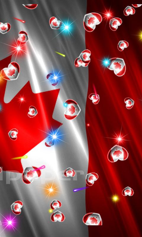 Canada Flag Heart - 5