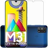 Affix Tempered Glass for Samunsg Galaxy M31 Prime Edition/Samsung Galaxy F41 / Samsung Galaxy M31 / M21 with Easy self…
